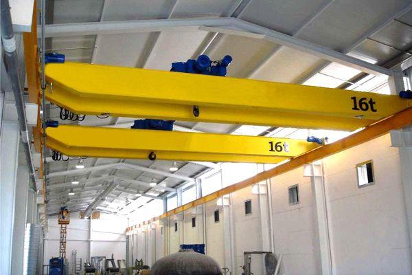 Overhead Crane with Electric Hoist | Double Girder Overhead Crane