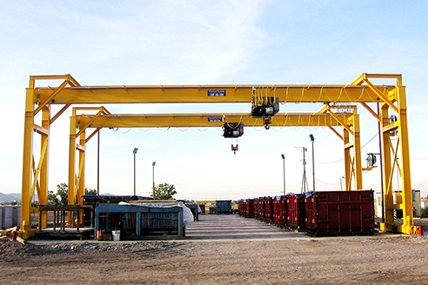 Gantry Crane with Electric Hoist