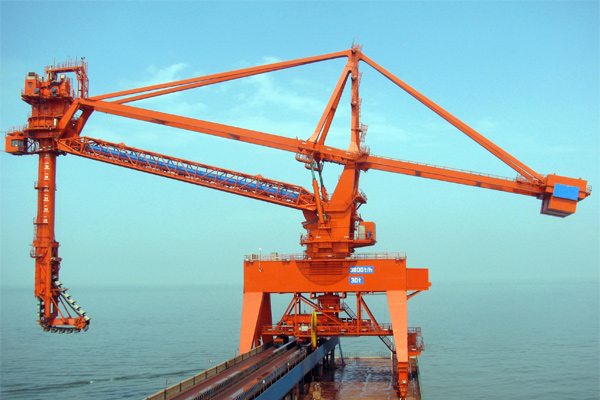 Chain Bucket Ship Unloader