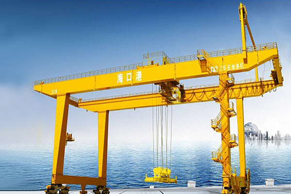 Container Rail Mounted Gantry Crane
