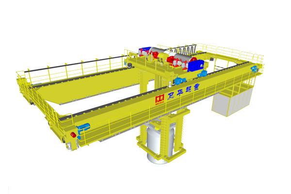 Intelligent Overhead Crane for Smelting Feeding