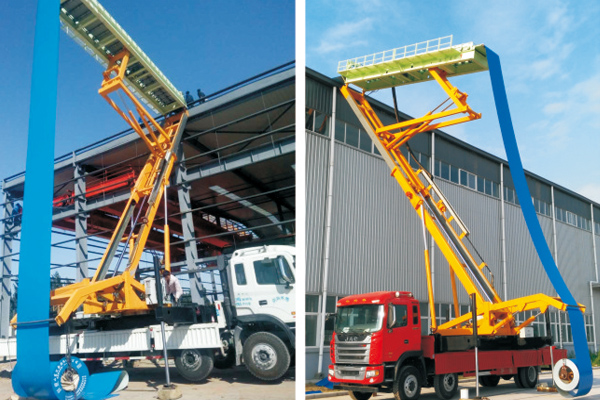 Tile Making Crane Truck