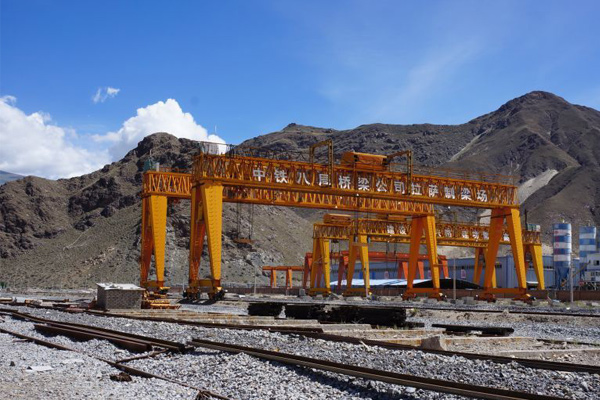 Weihua Project Cranes for Lhasa-Shigatse Railway Construction