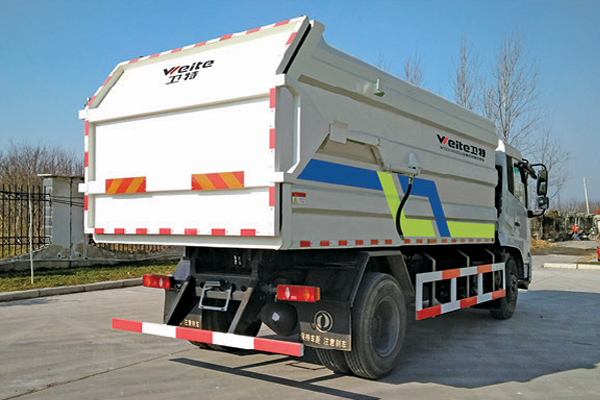 Compression-Docking-Garbage-Truck