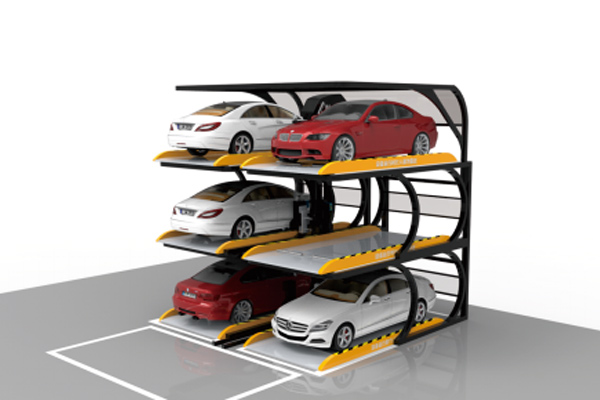 No-avoidance Smart Car Lifter Garage