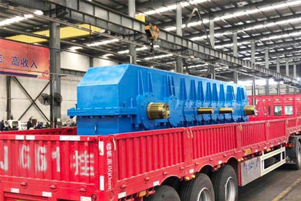 Delivery of 320t Crane Reducer