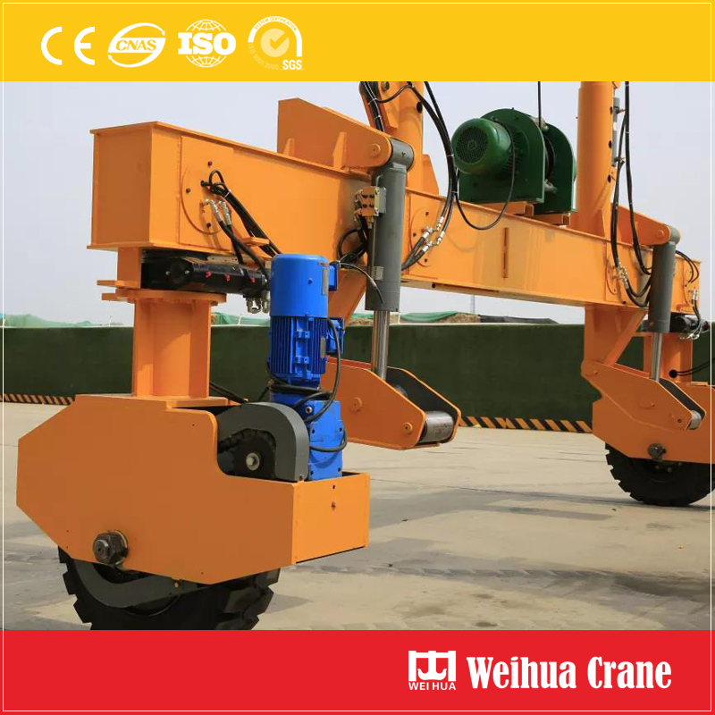 Rubber Tire Track Laying Crane