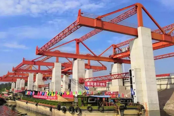 Weihua Container Handling Crane for River Port