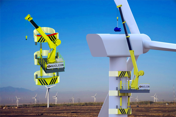 Crane-Wind-Turbine-Maintenance