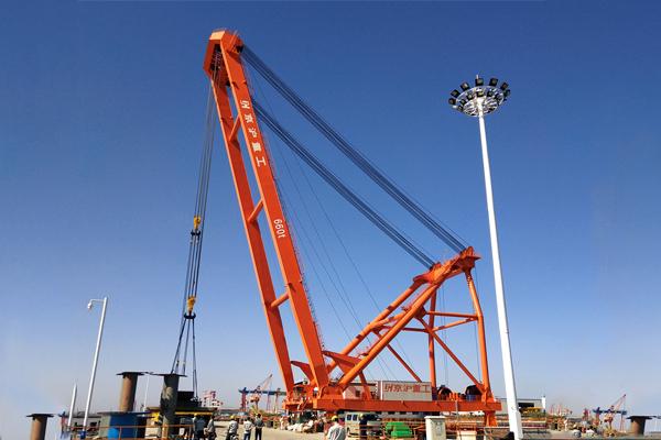 Derrick-crane