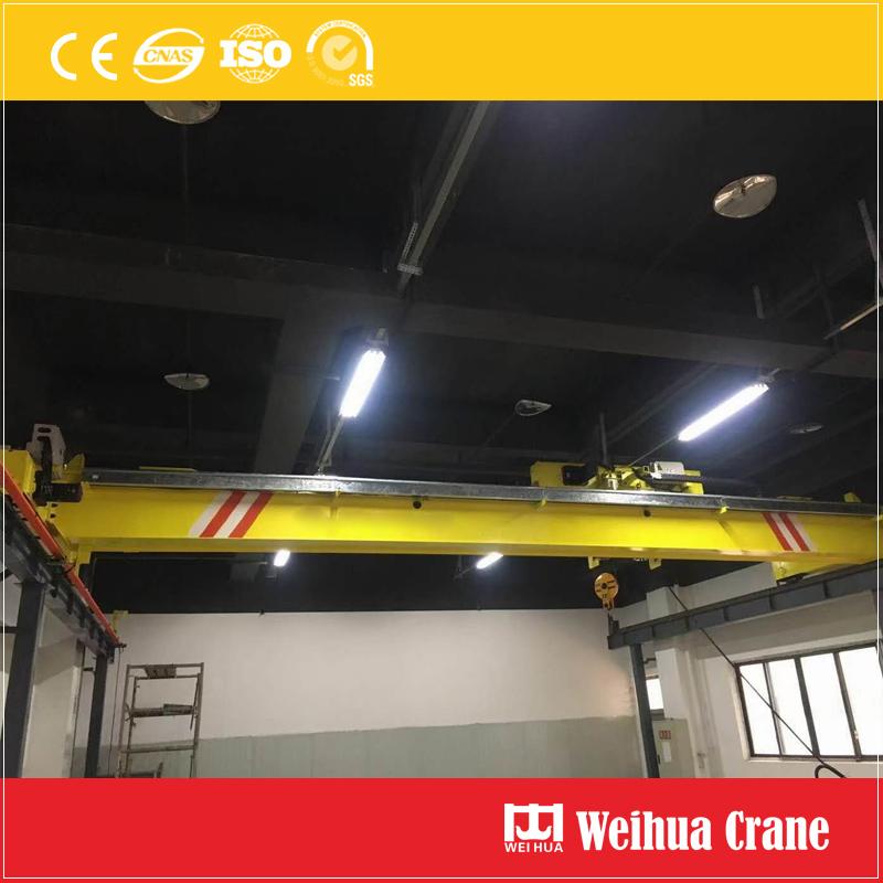 Overhead-crane-with-drag-chain