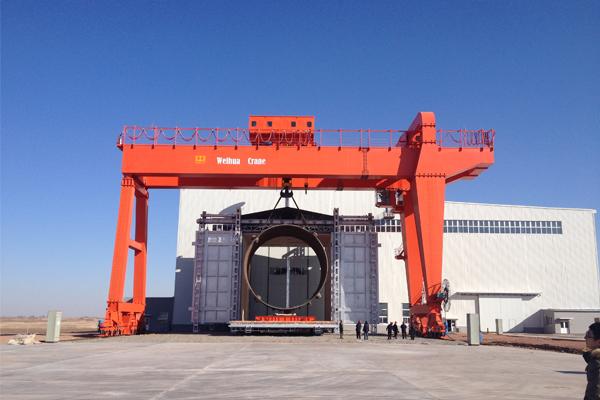FEM-DIN-gantry-crane