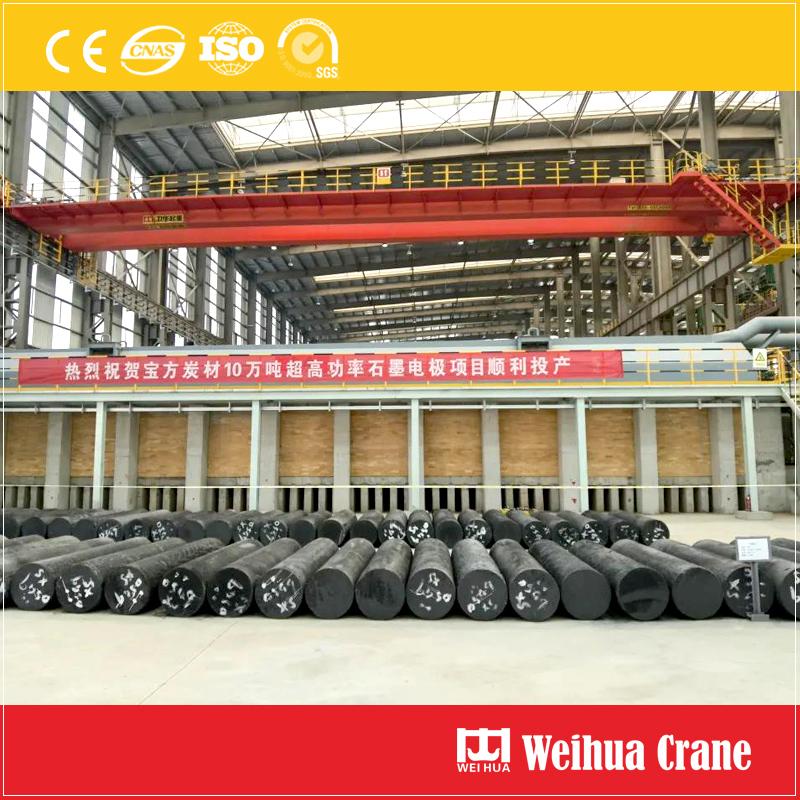 Graphite-electrode-bridge-crane