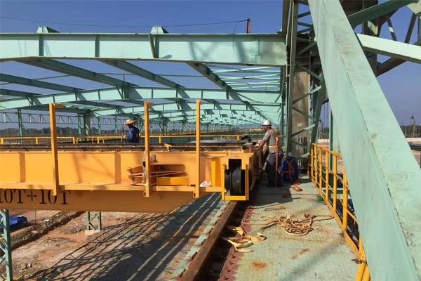 Malaysia-steel-plant-crane