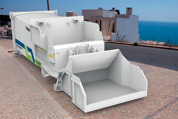 Mobile-Garbage-Compression-Station