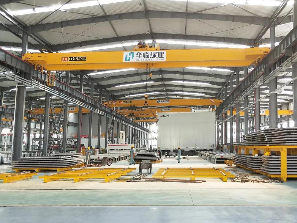 Overhead-crane-for-green-building-company