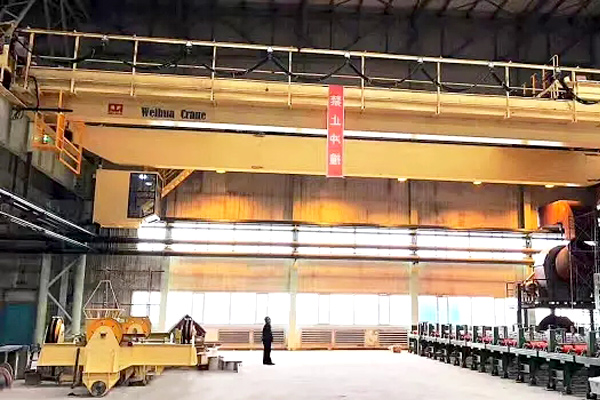 Overhead-crane-suction-beam