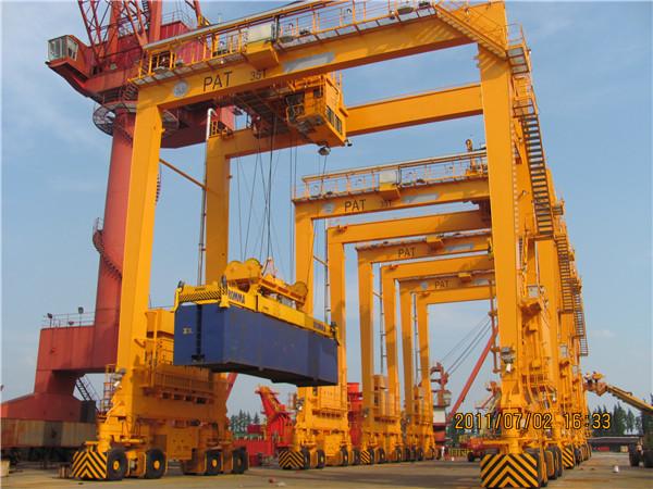 rtg-crane-container
