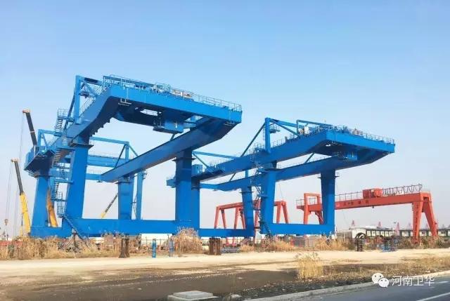 Rail-mounted-gantry-crane-thailand