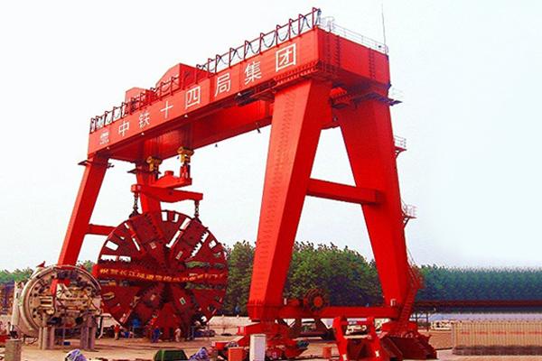 Shield-Tunneling-Crane