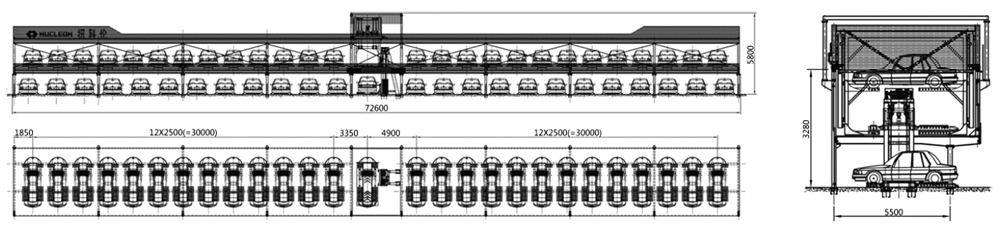 auto-parking-system-drawing