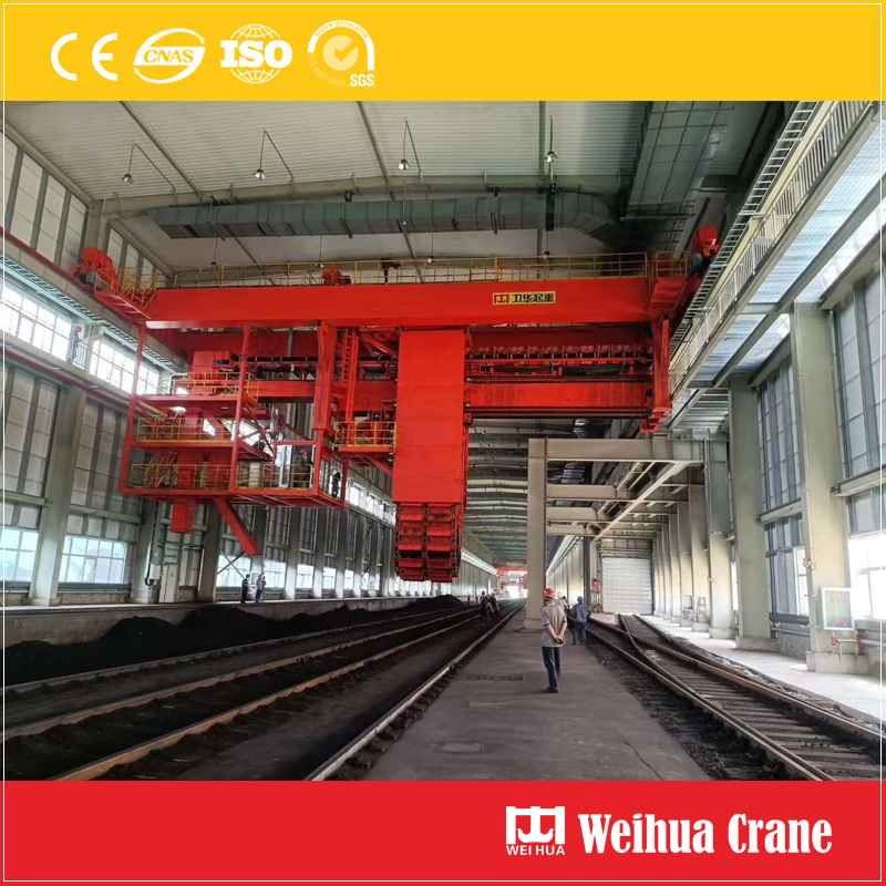 chain-bucket-coal-handling-crane