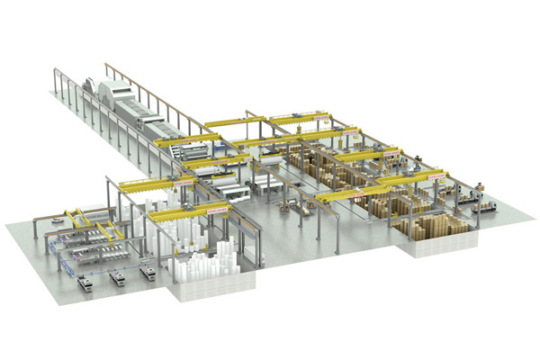 crane-in-paper-making-plant