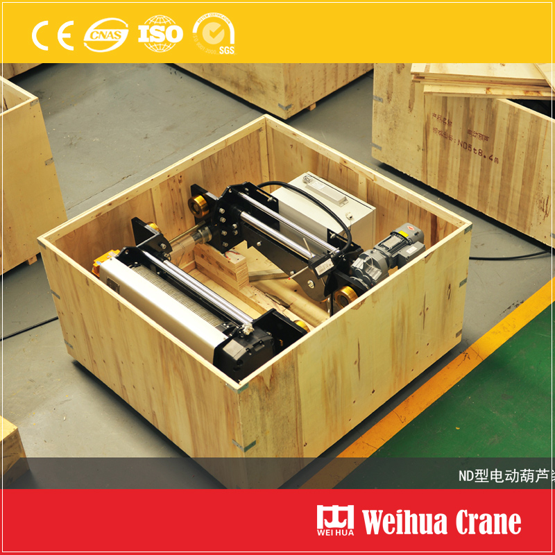 electric-hoist-wooden-case-packing