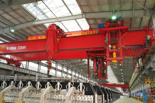 electrolytic-aluminum-Overhead-crane