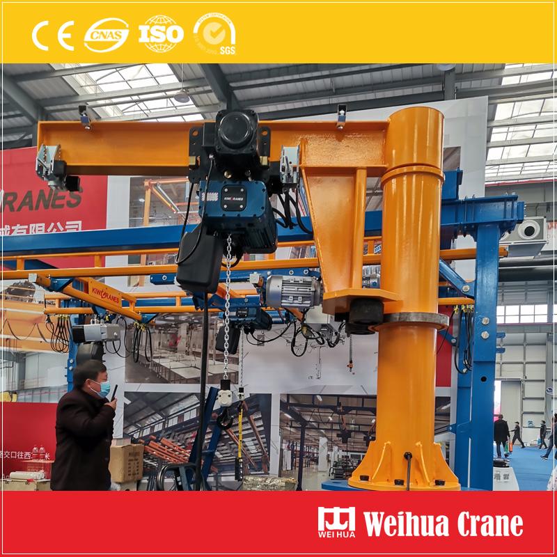floor-fixed-jib-crane