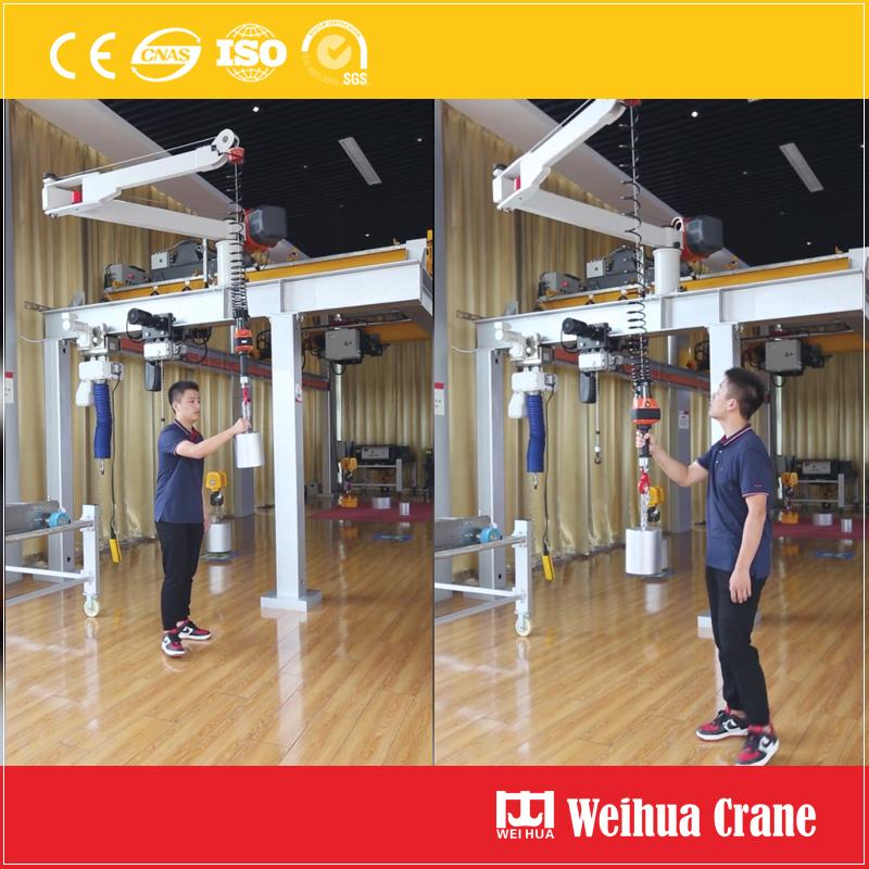 folding-jib-crane-test