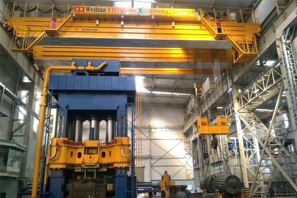 forging-crane-installed