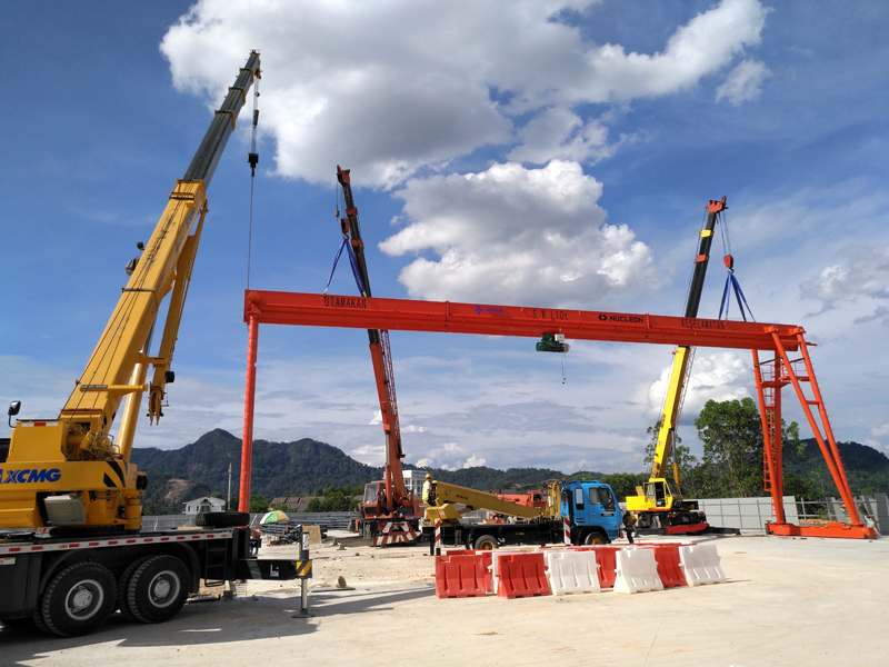 Gantry Crane Project in Malaysia