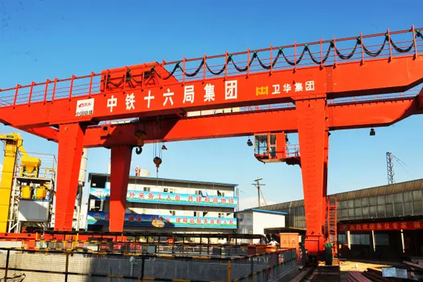 gantry-crane-subway-slag-lifting