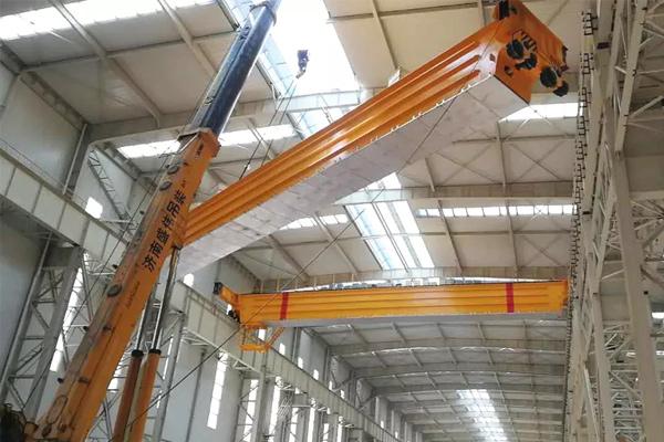 main-beam-installation
