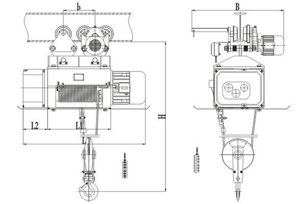 metallurgy-hoist-drawing