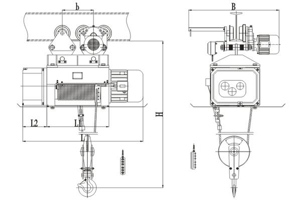 metallurgy-hoist-drawing