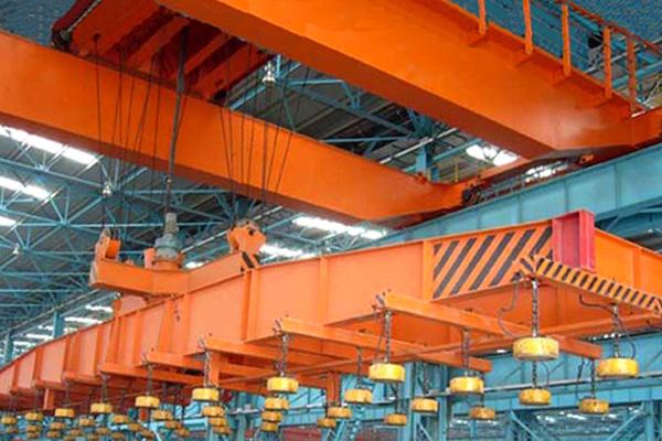 overhead-crane-electromagnetic-beam