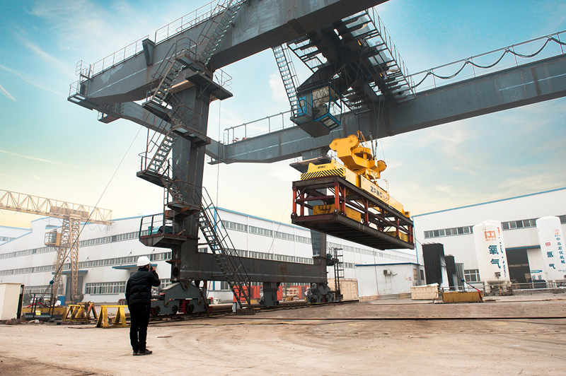 rail-mounted-gantry-crane-test