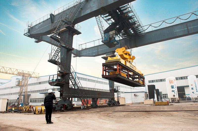 rail-mounted-gantry-crane-test