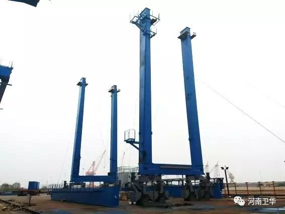 rtg-crane-legs