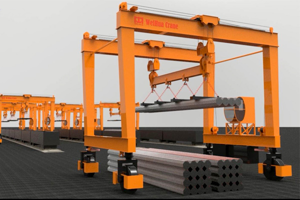 rubber-tire-gantry-crane-steel-pipe-handling