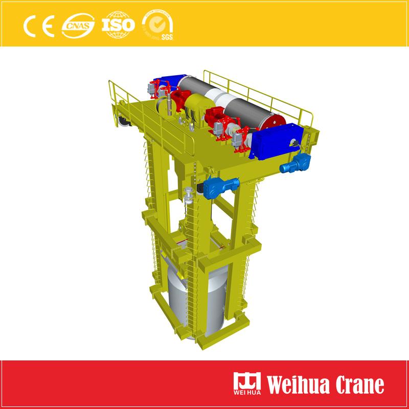 scrap-charging-crane-trolley