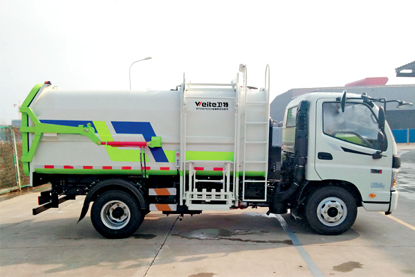 self-loading-unloading-garbage-truck