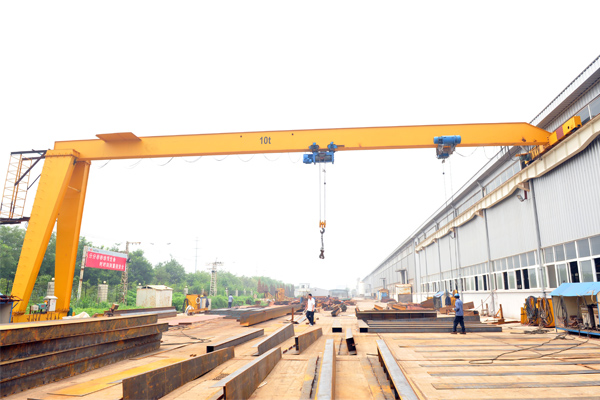 semi-gantry-crane-single-girder