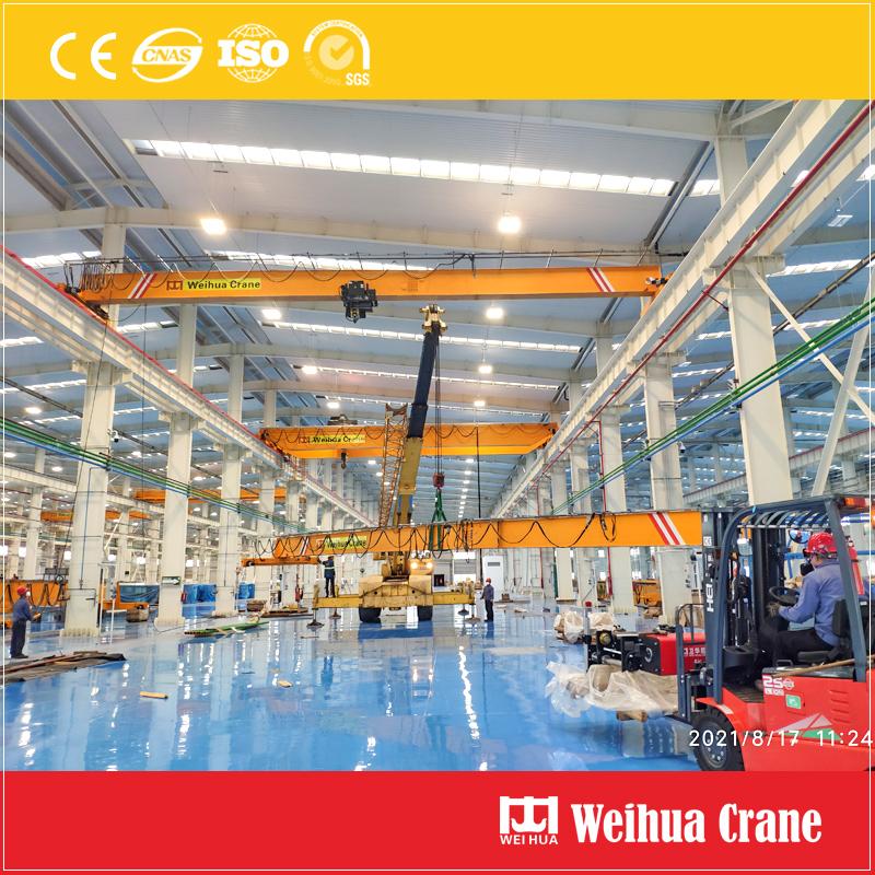 single-girder-overhead-crane-installation-Mexico