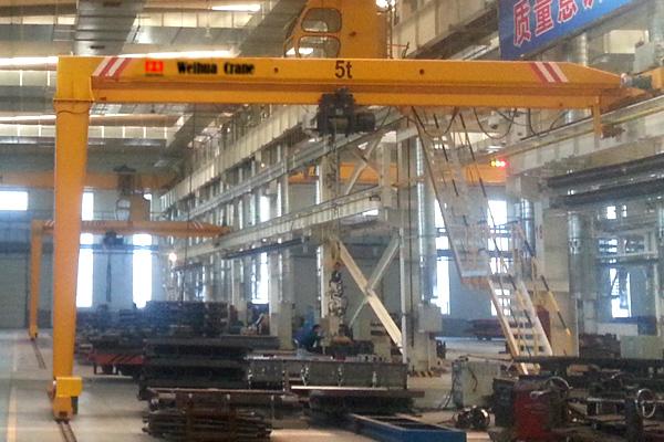 single-girder-semi-gantry-crane