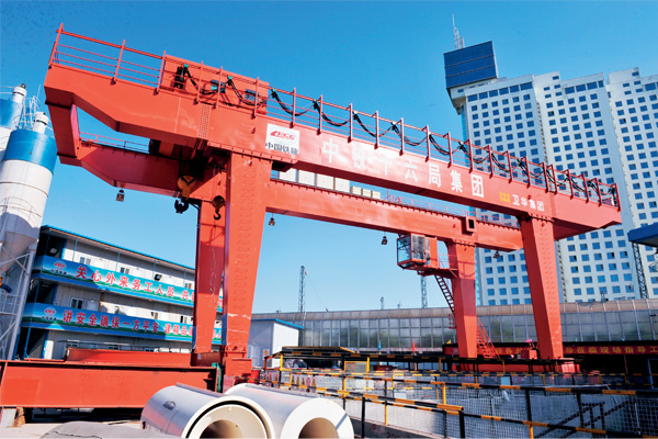 subway-construction-gantry-crane