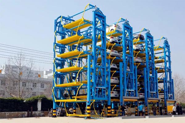 vertical-parking-tower