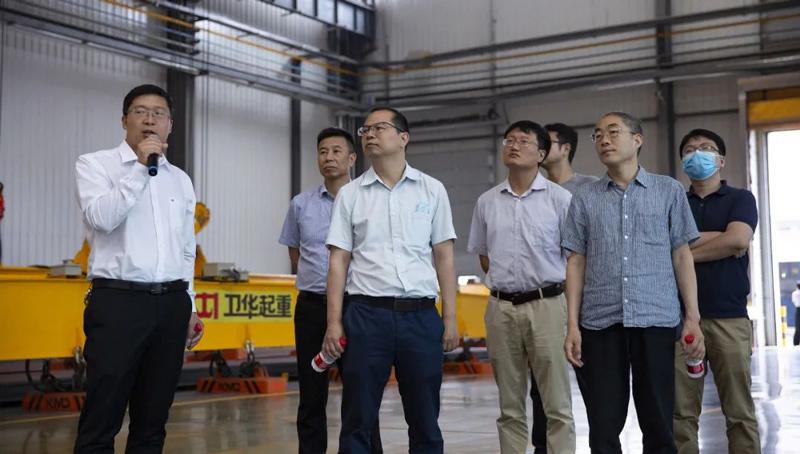 weihua-crane-intelligent-industrial-park-visit
